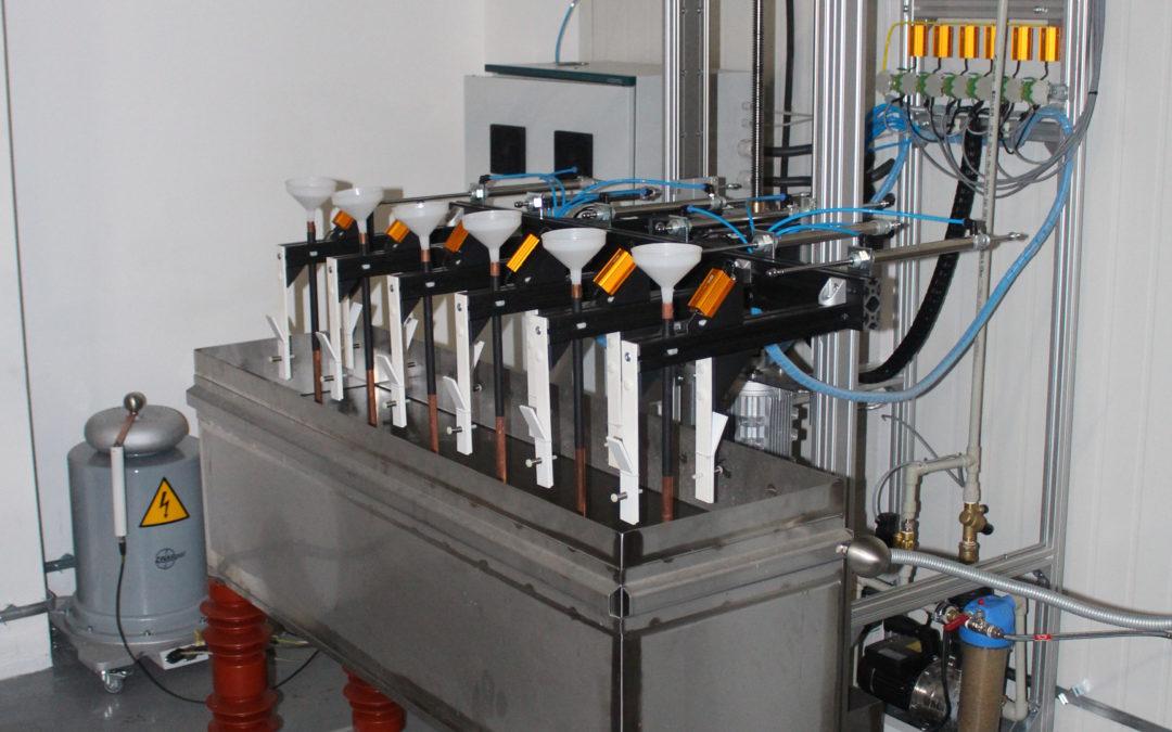 Podwójny układ do badania sprzętu ochronnego
