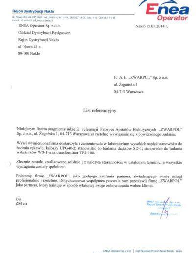 List-referencyjny-ENEA-Operator