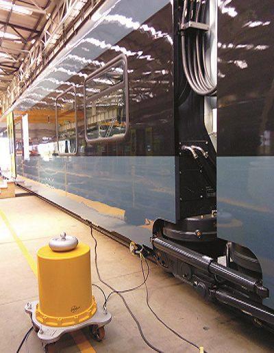 badanie izolacji wagonów Stadler